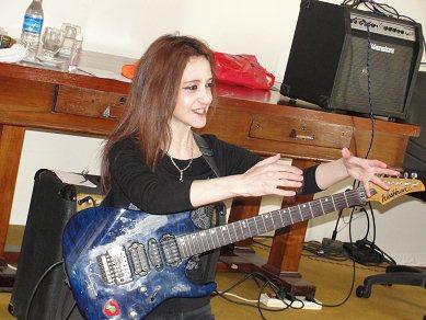 20 mujeres guitarristas